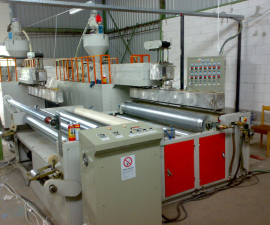 3L Bubble film making machines, possibility of lamination