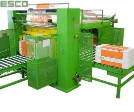 Balící stroje - příklady balících strojů-Stroje pro balení polystyrenových desek GAS 1600 C