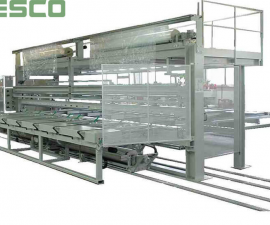Film wrapping machines - Wrapping machines examples-Machines for packing of aluminium profiles FSP 7200 SPP/E