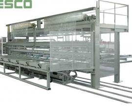 Balící stroje - příklady balících strojů-Stroje pro balení al profilů FSP 7200 SPP/E