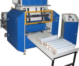 Automatický stroj pro převíjení stretch fólie APS